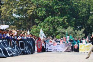LSM, Mahasiswa, Pelajar sampai Pejabat Aksi Save Meratus