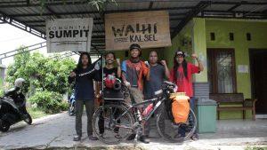 Tiba di Banjarbaru, Robby Lanjut Bersepeda Rute Pegunungan Meratus