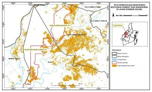 Walhi Kalsel Laporkan Hasil Pantau Kebakaran Gambut di Perkebunan Sawit