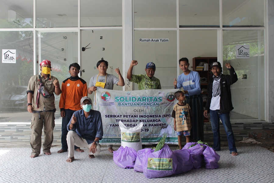 Solidaritas Bantuan Pangan Petani Kalsel di Tengah Pandemi COVID-19