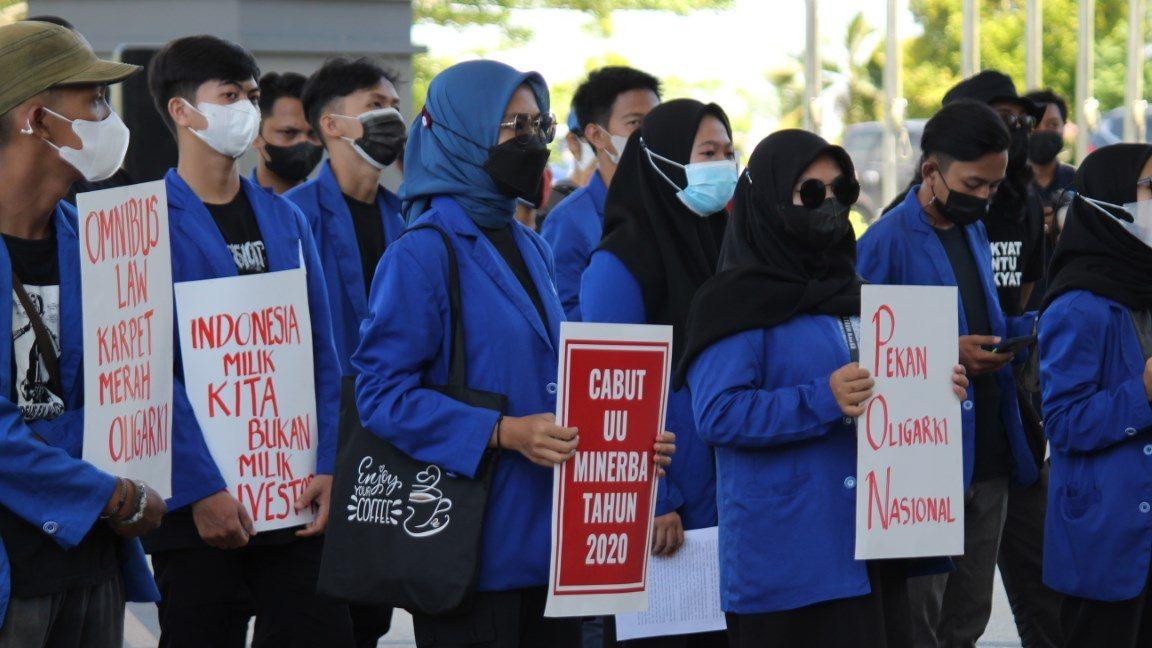 #BersihkanIndonesia Sesalkan Presiden Jokowi Minta Sidang JR UU Minerba Ditunda