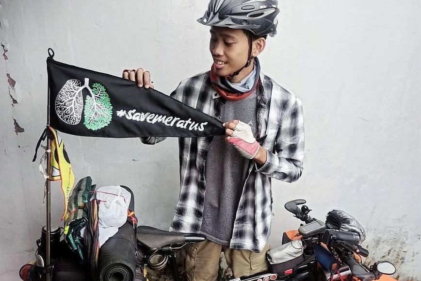 Bersepeda Jogja – Tabalong Kampanyekan #SaveMeratus