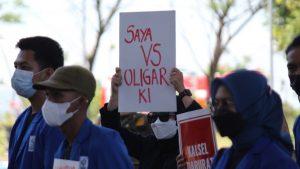 Gubernur Kalsel Mangkir dari Massa Aksi Haul Atas Matinya Reformasi